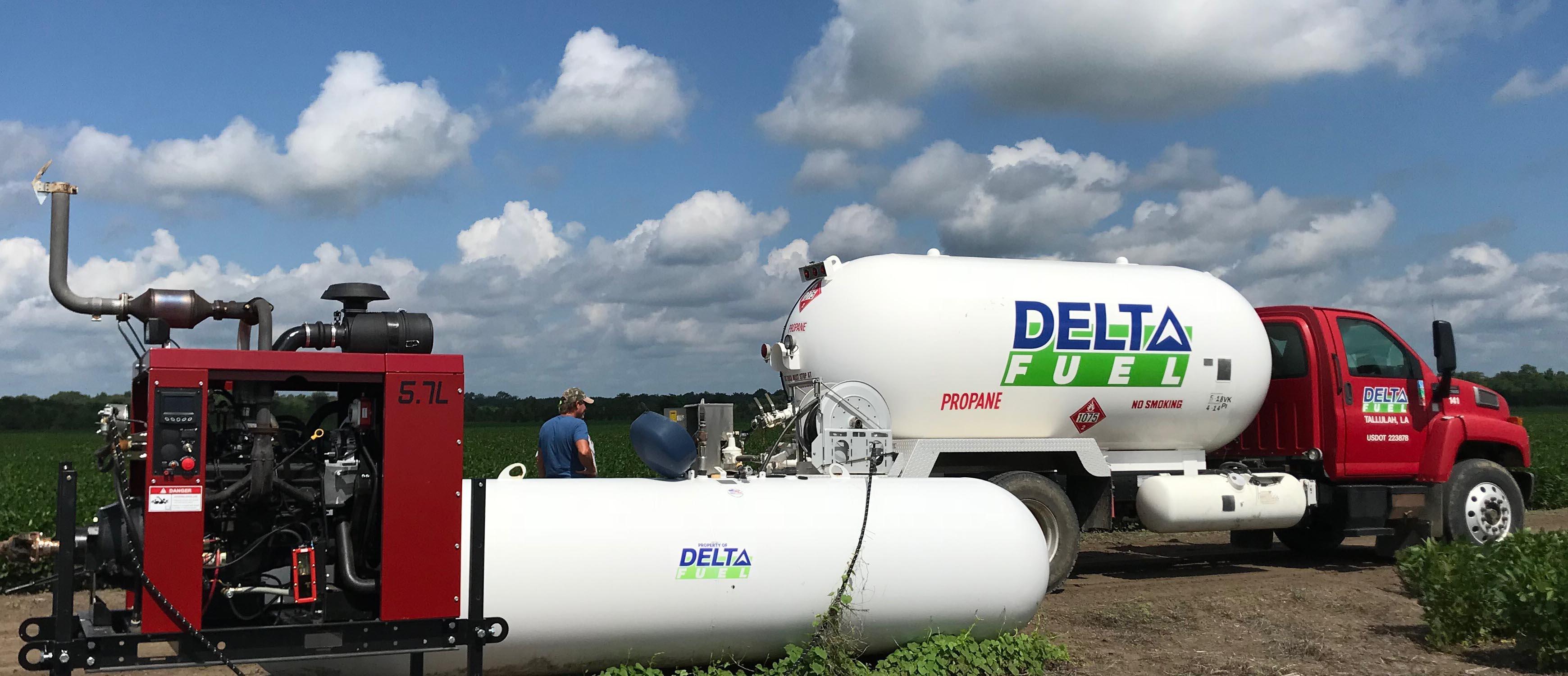 Propane, Gas, Diesel & Lubricants